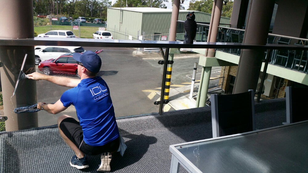 ICU Commercial Window Cleaning at Channel Ten!!