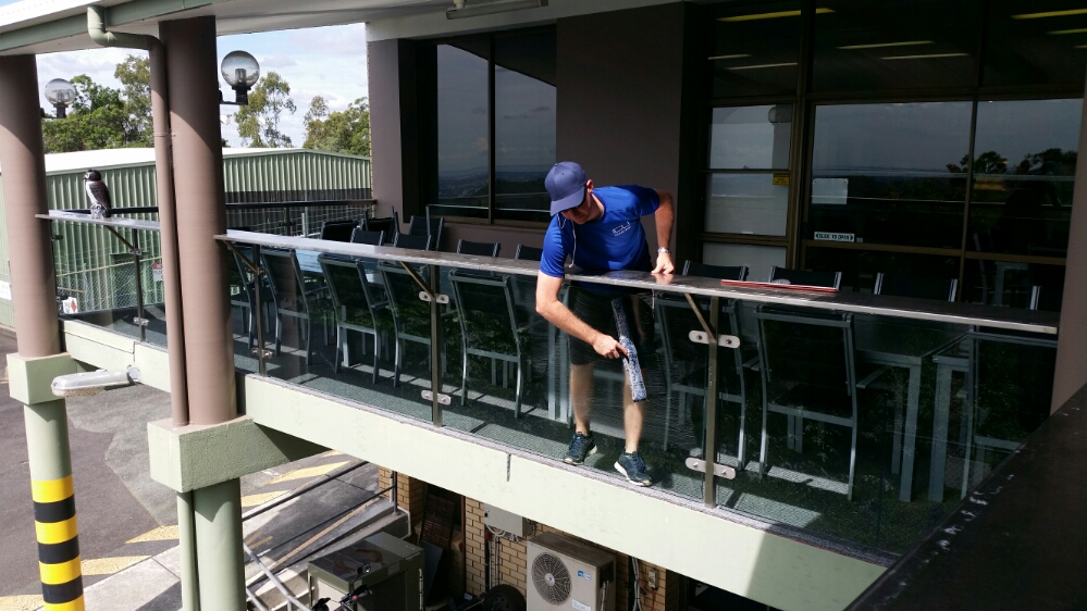 Channel Ten Commercial Window Cleaning By ICU