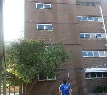 Water Fed Pole System for Window Cleaning Milton - ICU Cleaning