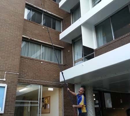 Water Fed Pole System for Window Cleaning The Gap - ICU Cleaning