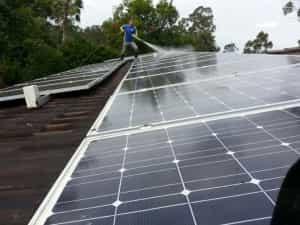 ICU Solar Panel Cleaning Kholo