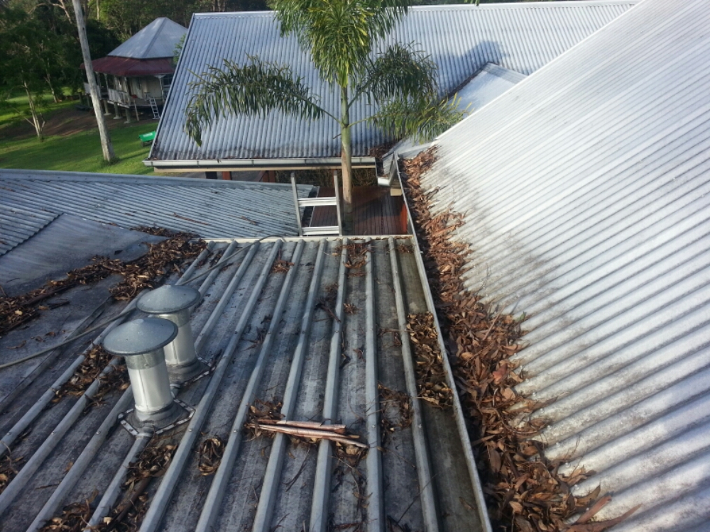ICU Cleaning - Before Roof Cleaning in Pullevale!