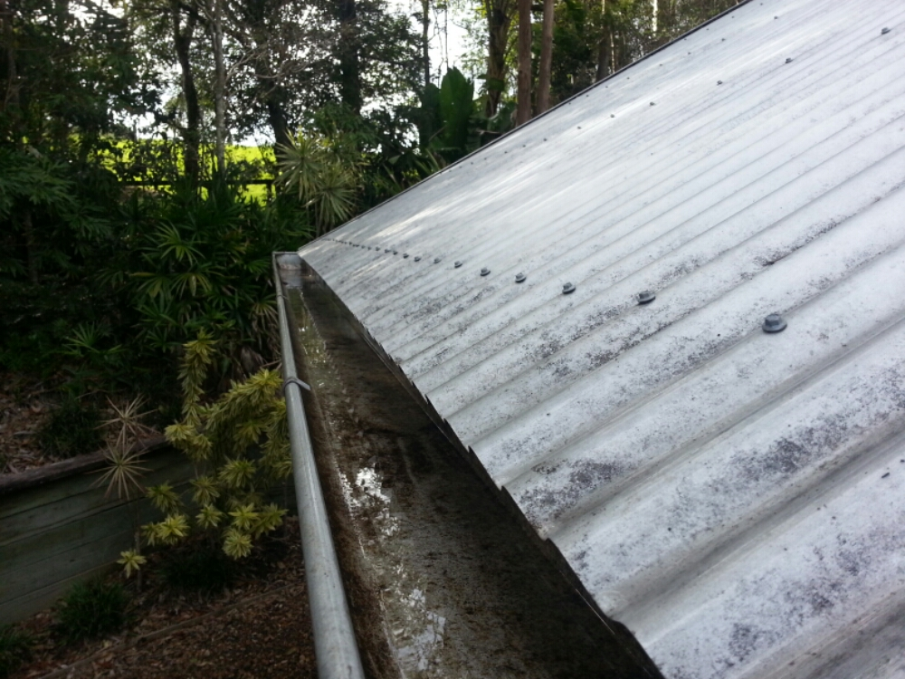 ICU Cleaning - After Gutter Cleaning in Pullevale!