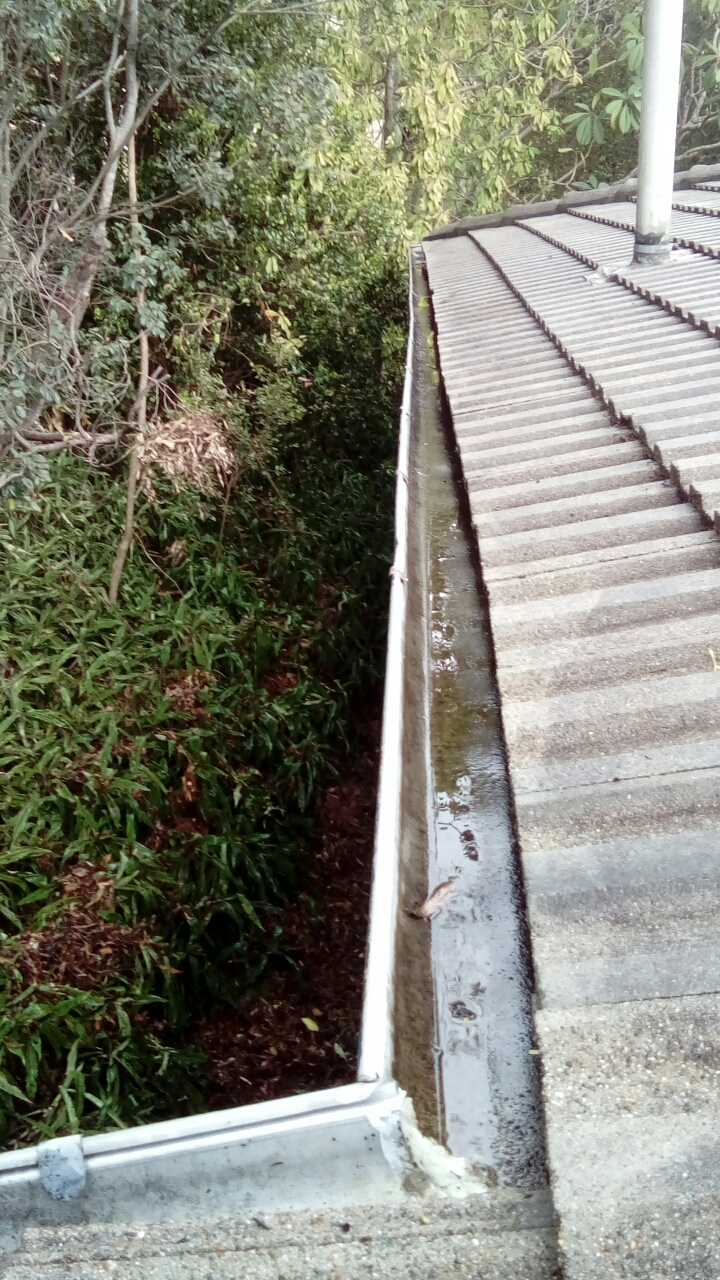After ICU Gutter Clean kenmore