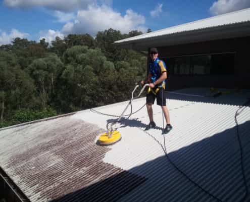 ICU Roof Cleaning St Lucia