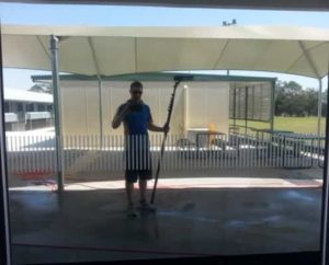 Water Fed Pole System for Window Cleaning Moggill - ICU Cleaning